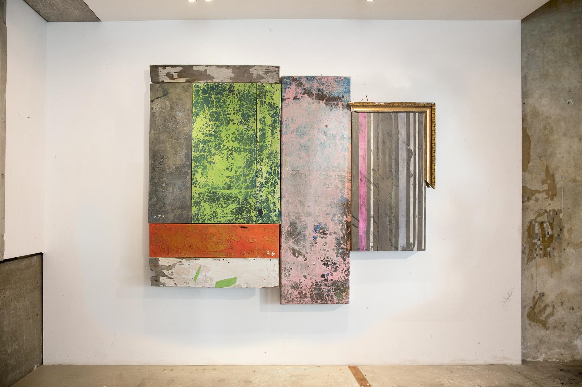 6_gemaelde_paintings_white_wall